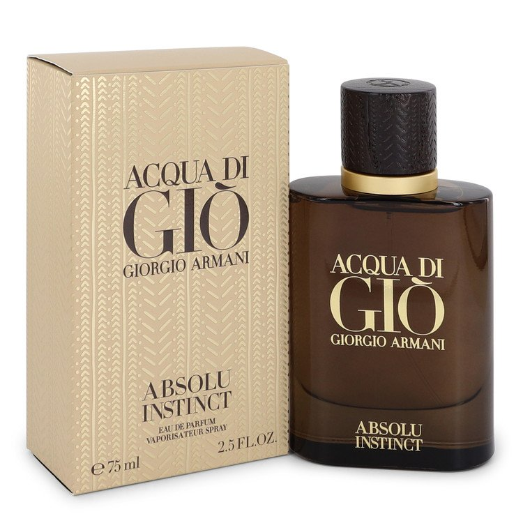 Acqua Di Gio Absolu Instinct Eau De Parfum Spray By Giorgio Armani 2.5oz