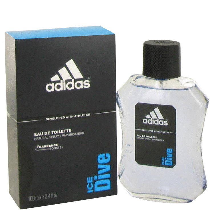Adidas Ice Dive Eau De Toilette Spray By Adidas 3.4oz