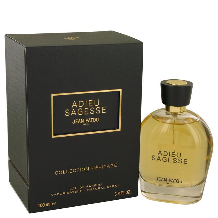 Adieu Sagesse Eau De Parfum Spray By Jean Patou 3.3oz