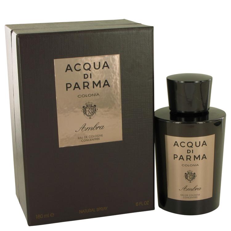 Acqua Di Parma Colonia Ambra by Acqua Di Parma for Men Eau De Cologne Concentrate Spray 6 oz