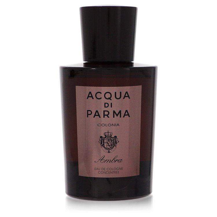 Acqua Di Parma Colonia Ambra by Acqua Di Parma for Men Eau De Cologne Concentrate Spray (Tester) 3.3 oz