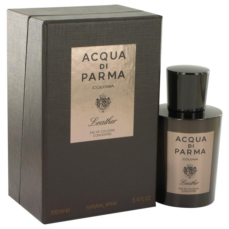 Acqua Di Parma Colonia Leather Eau De Cologne Concentree Spray By Acqua Di Parma 3.4oz