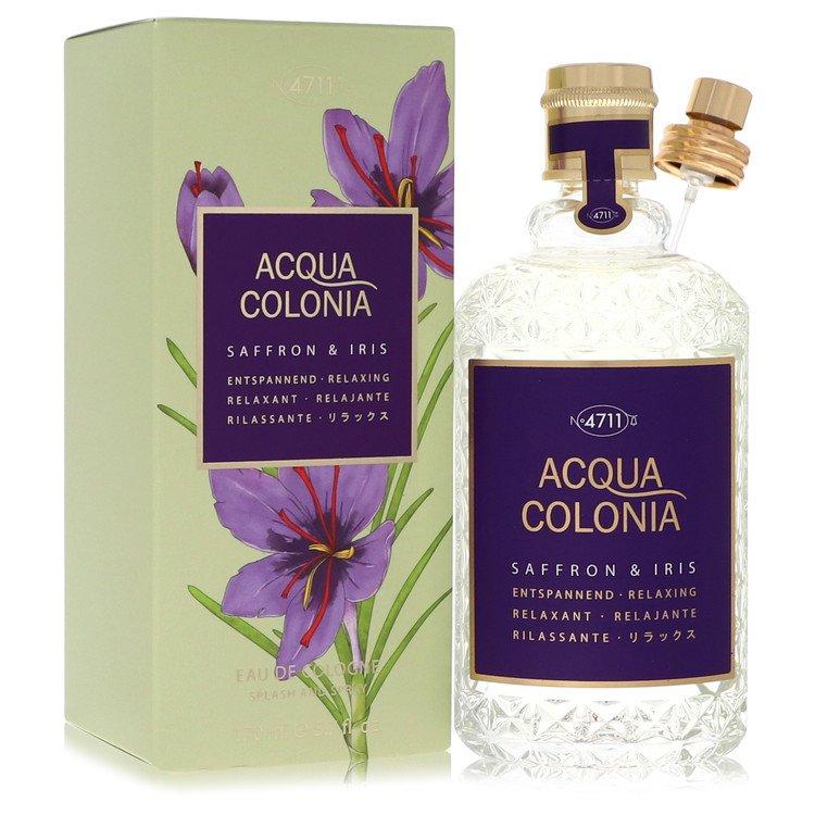 4711 Acqua Colonia Saffron and Iris Eau De Cologne Spray By Maurer and Wirtz 5.7oz