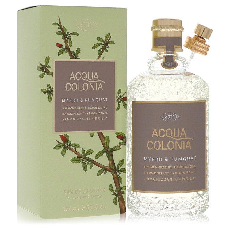 4711 Acqua Colonia Myrrh and Kumquat Eau De Cologne Spray By Maurer and Wirtz 5.7oz