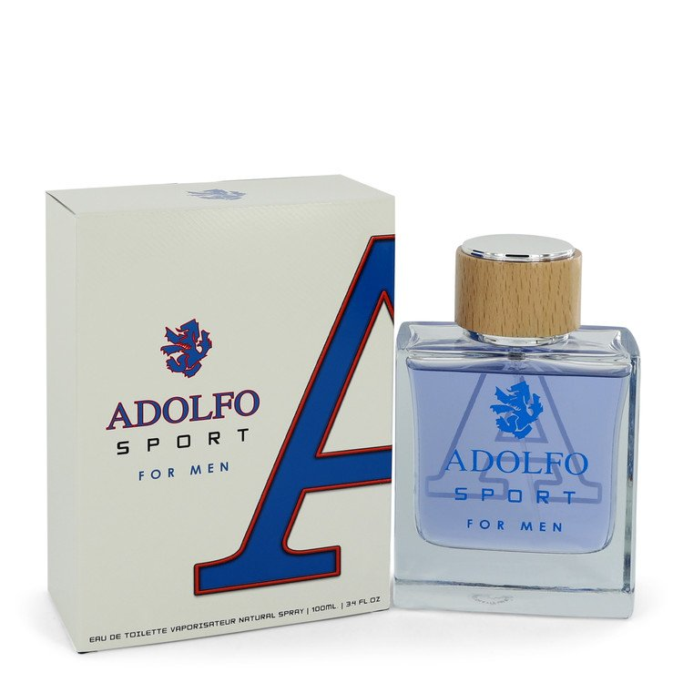 Adolfo Sport Eau De Toilette Spray By Adolfo 3.4oz