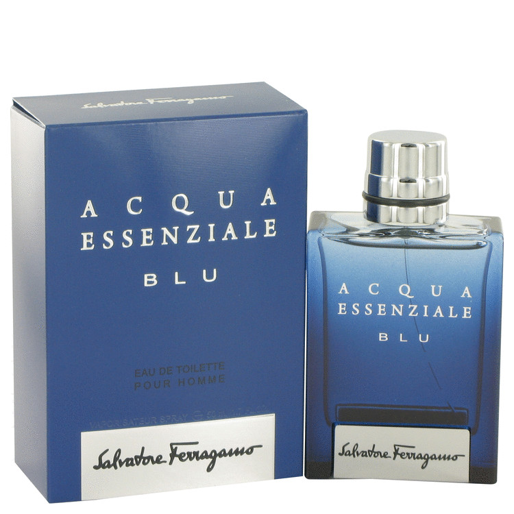 Acqua Essenziale Blu Eau De Toilette Spray By Salvatore Ferragamo 50ml