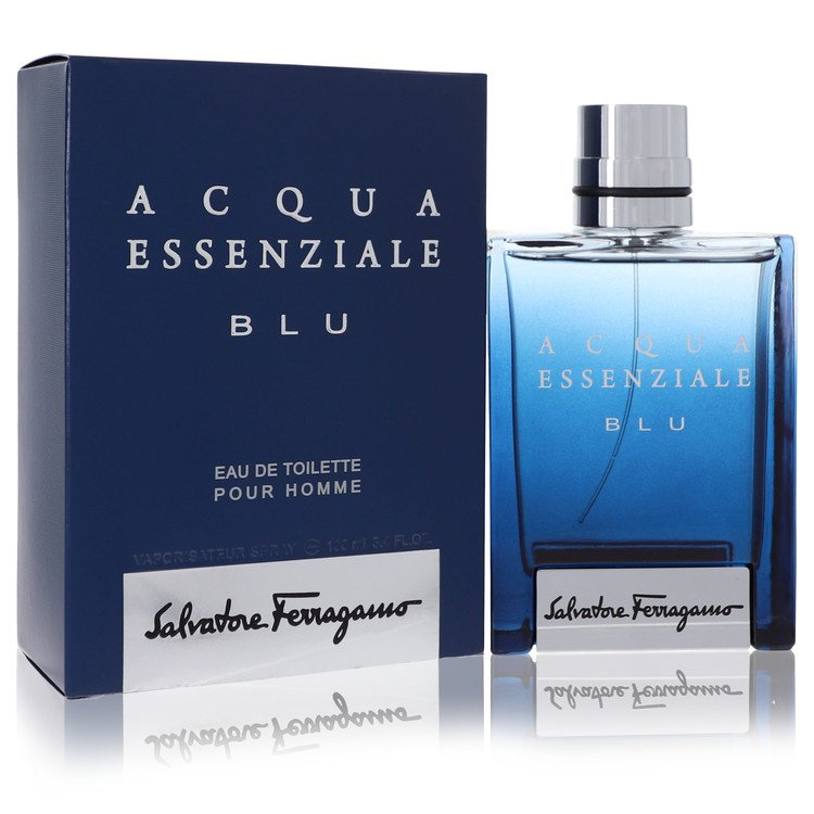 Acqua Essenziale Blu Eau De Toilette Spray By Salvatore Ferragamo 100ml