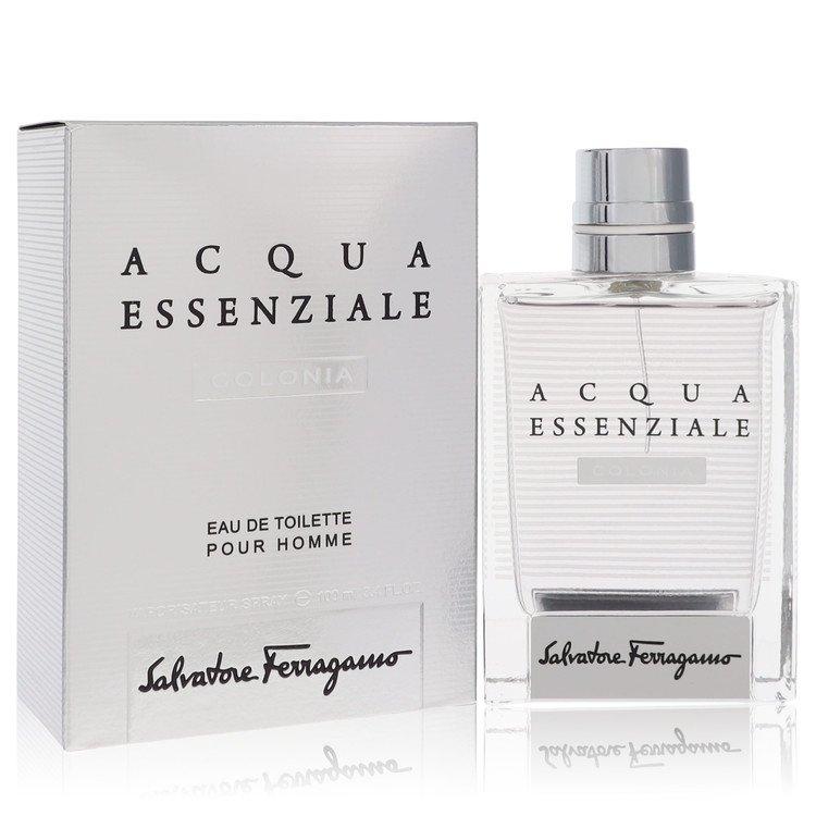 Acqua Essenziale Colonia Eau De Toilette Spray By Salvatore Ferragamo 3.4oz