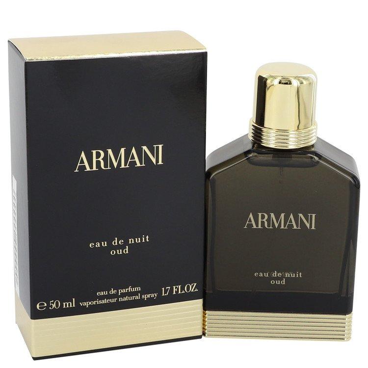 Armani Eau De Nuit Oud Eau De Parfum Spray By Giorgio Armani 50ml