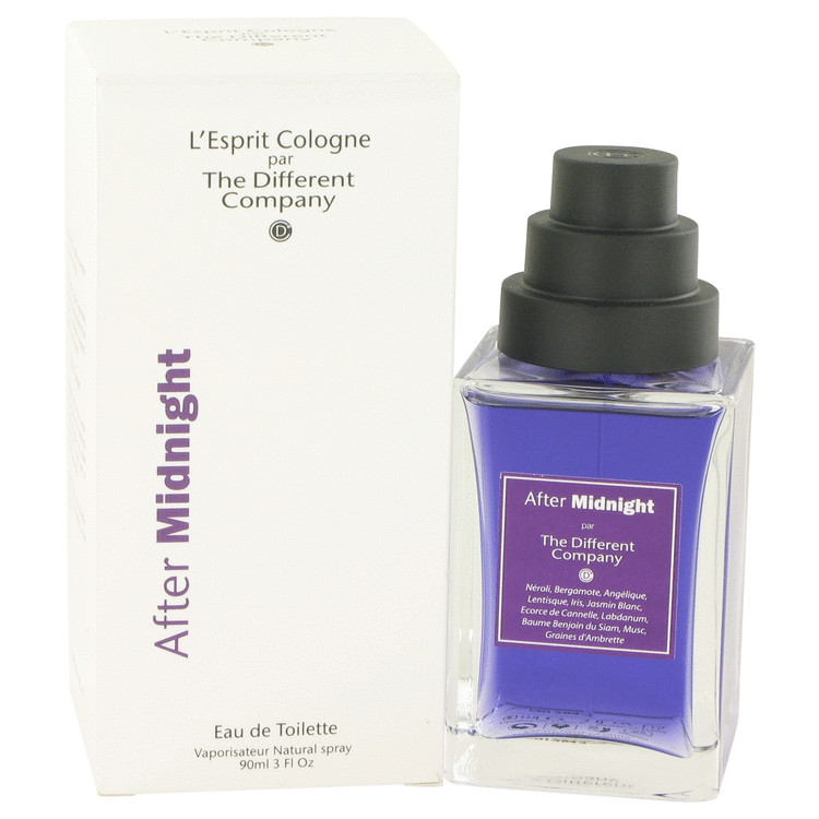 After Midnight Eau De Toilette Spray (Unisex) By The Different Company 90ml