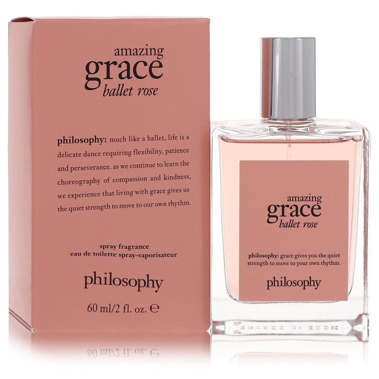 Amazing Grace Ballet Rose Eau De Toilette Spray By Philosophy 2.0oz
