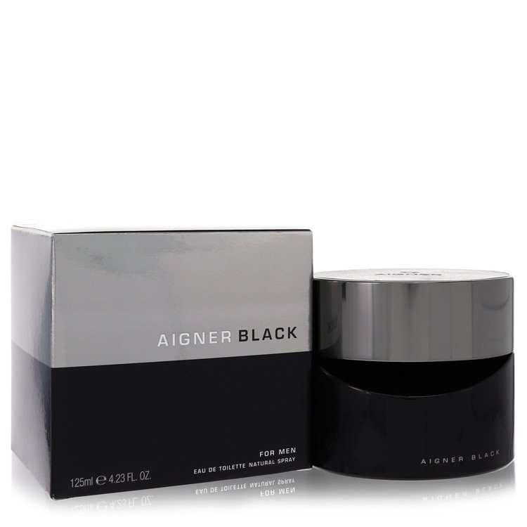 Aigner Black Eau De Toilette Spray By Etienne Aigner 4.2oz