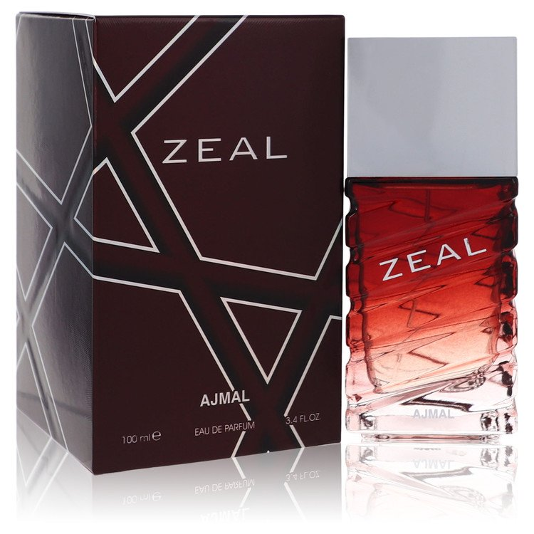 Ajmal Zeal Eau De Parfum Spray By Ajmal 3.4oz