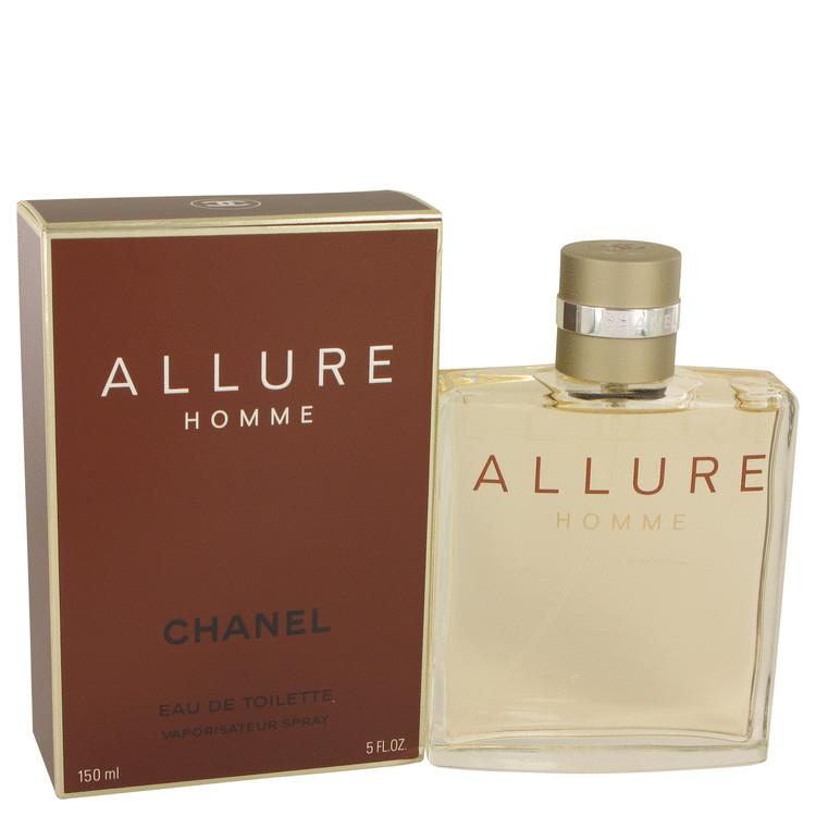 Allure Eau De Toilette Spray By Chanel 5.0oz