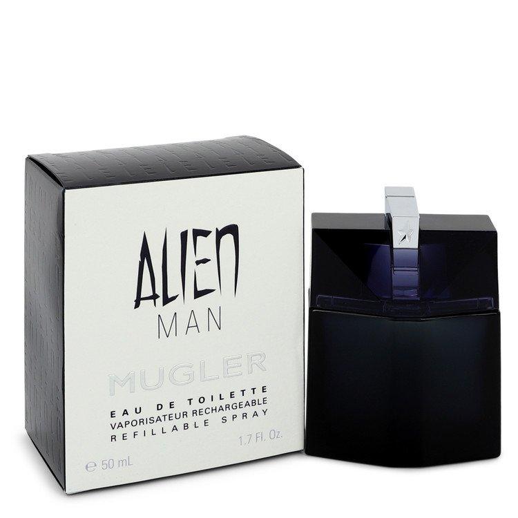 Alien Man Eau De Toilette Refillable Spray By Thierry Mugler 1.7oz