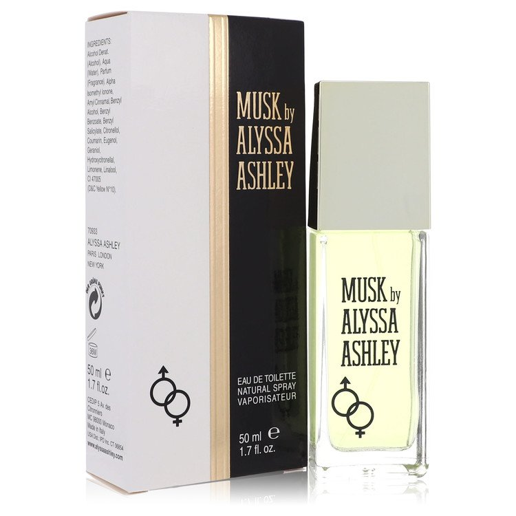 Alyssa Ashley Musk Eau De Toilette Spray By Houbigant 1.7oz
