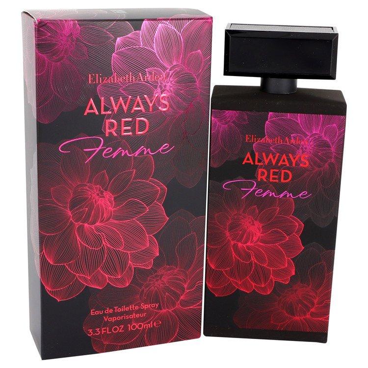 Always Red Femme Eau De Toilette Spray By Elizabeth Arden 100ml