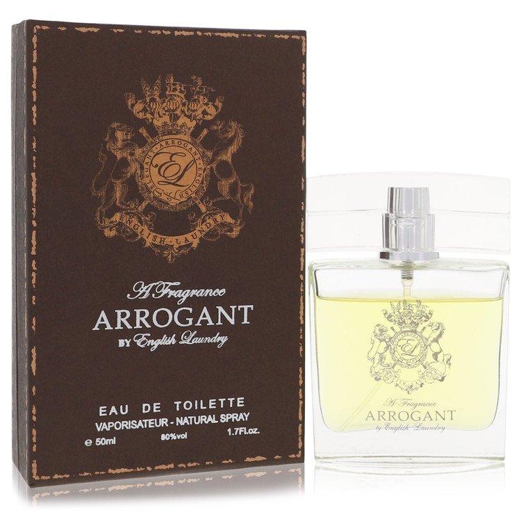Arrogant Eau De Toilette Spray By English Laundry 50ml