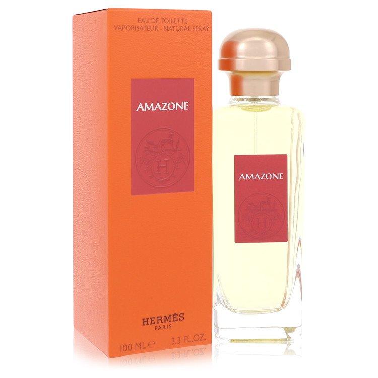 Amazone Eau De Toilette Spray By Hermes 3.4oz