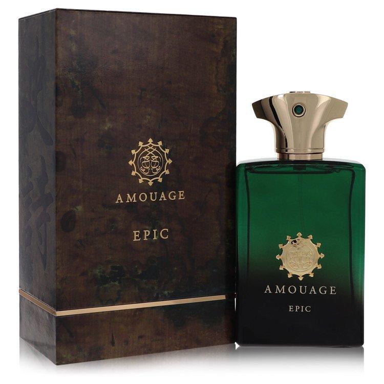 Amouage Epic Eau De Parfum Spray By Amouage 3.4oz