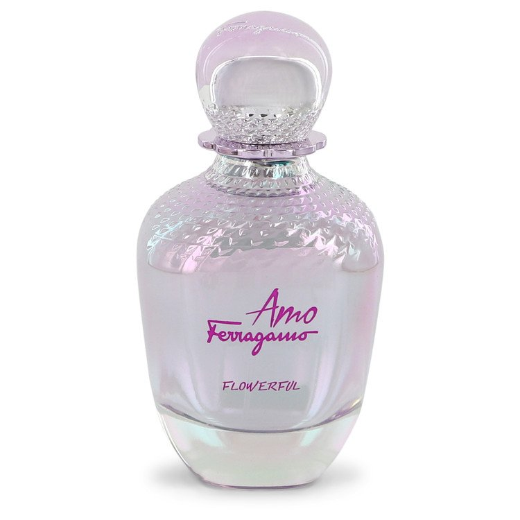 Amo Flowerful Eau De Toilette Spray (Tester) By Salvatore Ferragamo 100ml