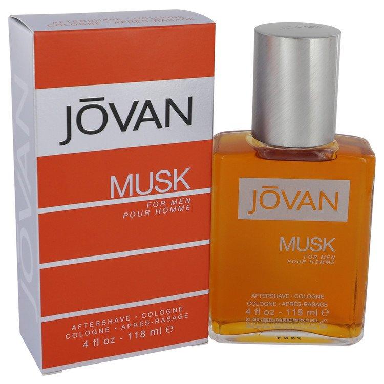 JOVAN MUSK by Jovan for Men After Shave / Cologne 4 oz