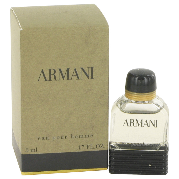 ARMANI by Giorgio Armani for Men Mini EDT .17 oz