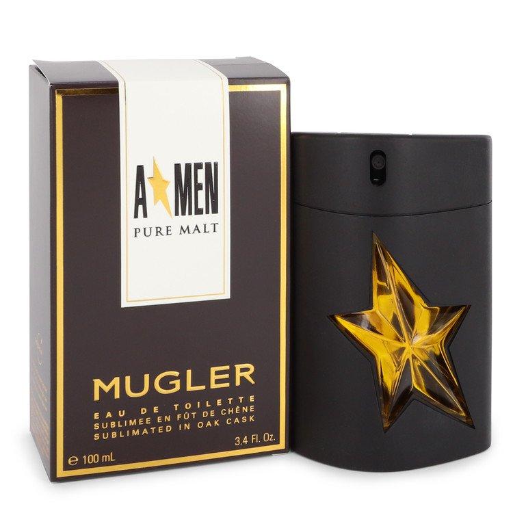 Angel Pure Malt Eau De Toilette Spray (Limited Edition) By Thierry Mugler 3.4oz