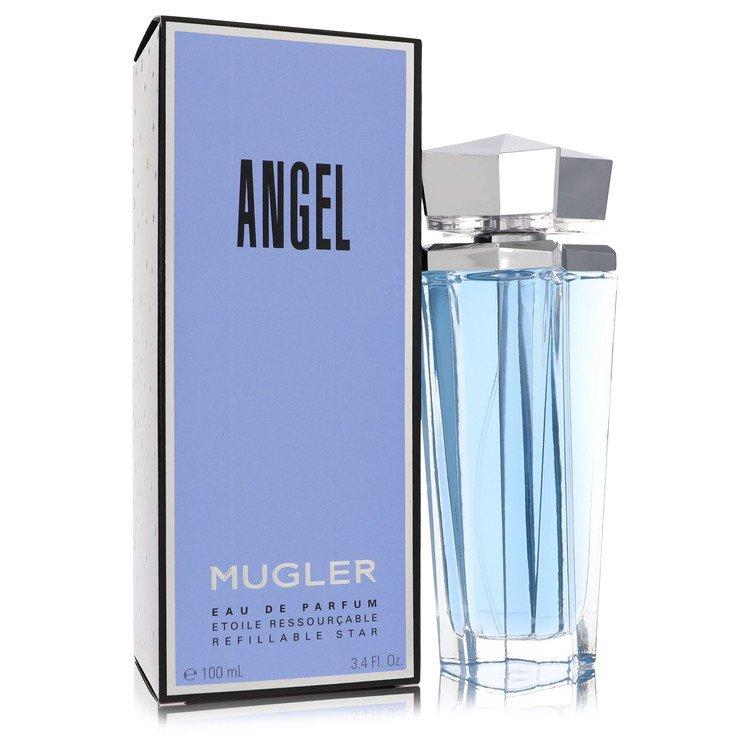 Angel Eau De Parfum Spray Refillable By Thierry Mugler 3.4oz