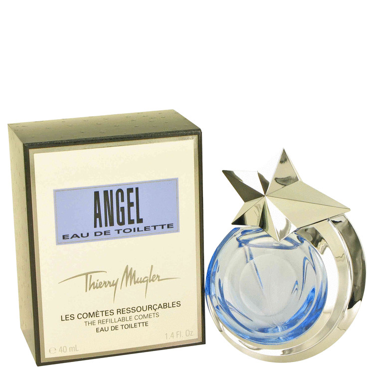 Angel Eau De Toilette Spray Refillable By Thierry Mugler 1.4oz