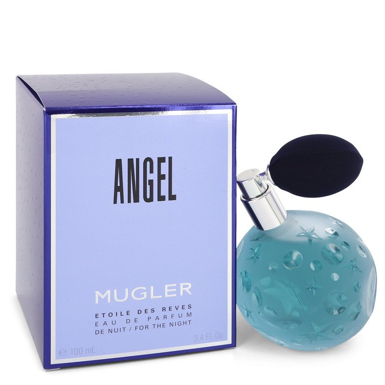 Angel Etoile Des Reves Eau De Parfum De Nuit with Atomizer By Thierry Mugler 3.4oz