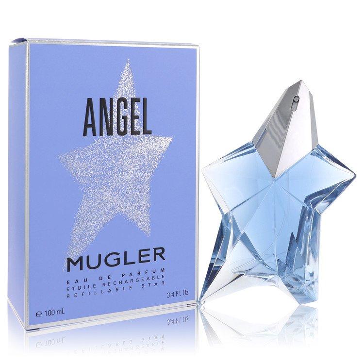 Angel Standing Star Eau De Parfum Spray Refillable By Thierry Mugler 3.4oz