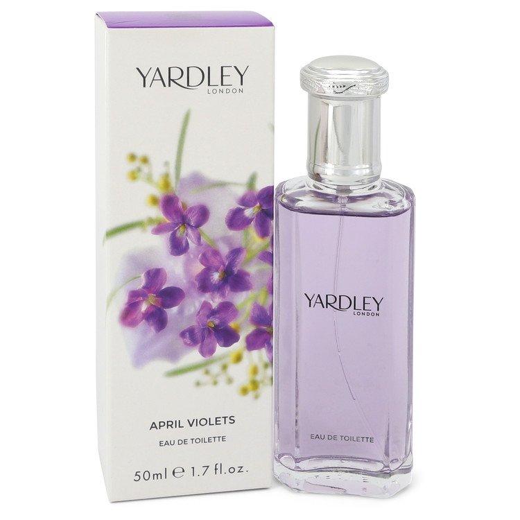 April Violets Eau De Toilette Spray By Yardley London 1.7oz