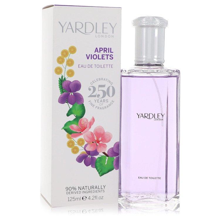 April Violets Eau De Toilette Spray By Yardley London 4.2oz