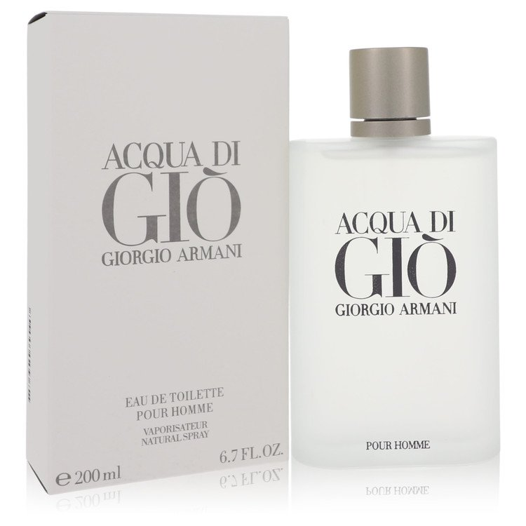 Acqua Di Gio Eau De Toilette Spray By Giorgio Armani 6.7oz