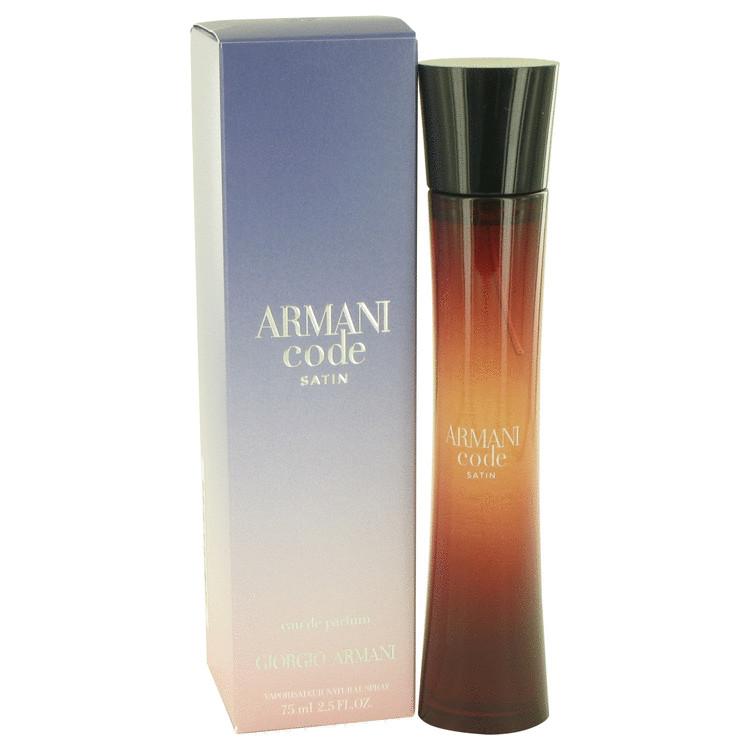 Armani Code Satin Eau De Parfum Spray By Giorgio Armani 75ml