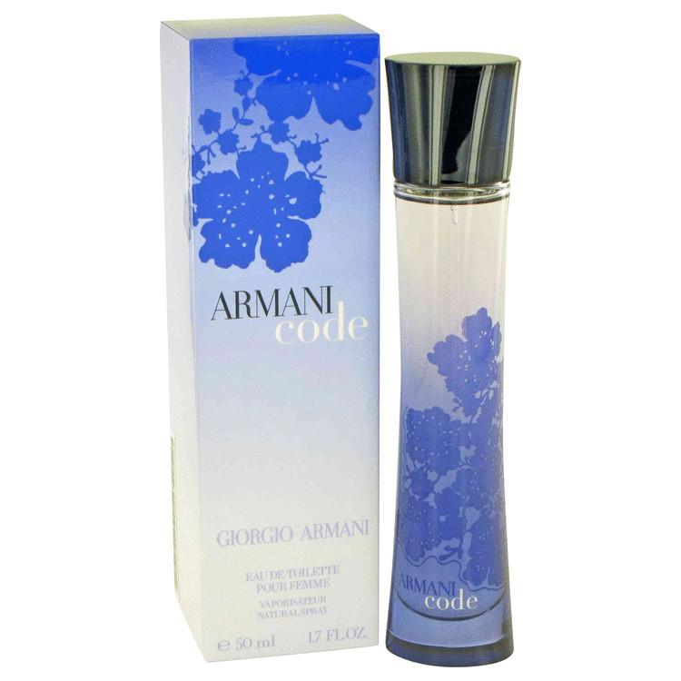Armani Code by Giorgio Armani for Women Eau De Toilette Spray 1.7 oz
