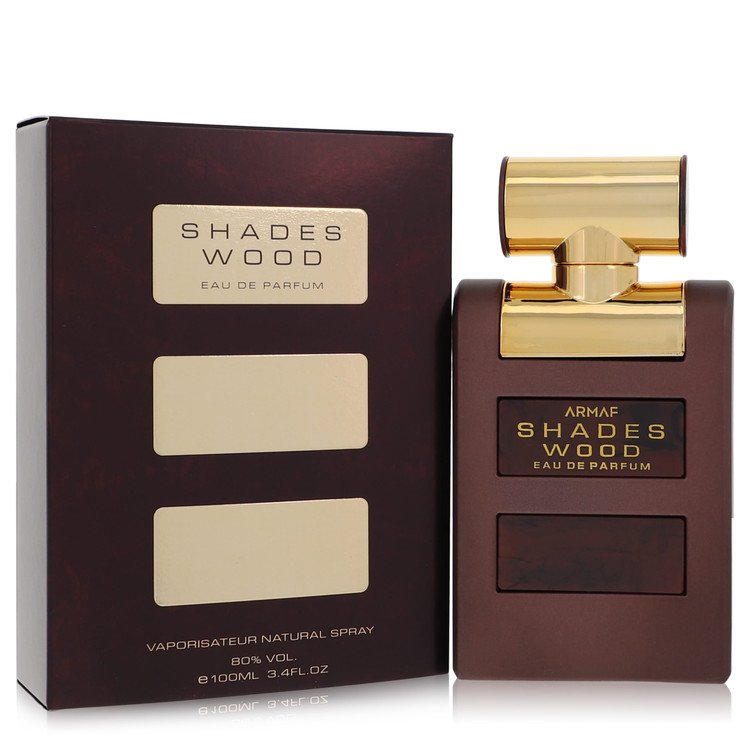Armaf Shades Wood Eau De Toilette Spray By Armaf 3.4oz