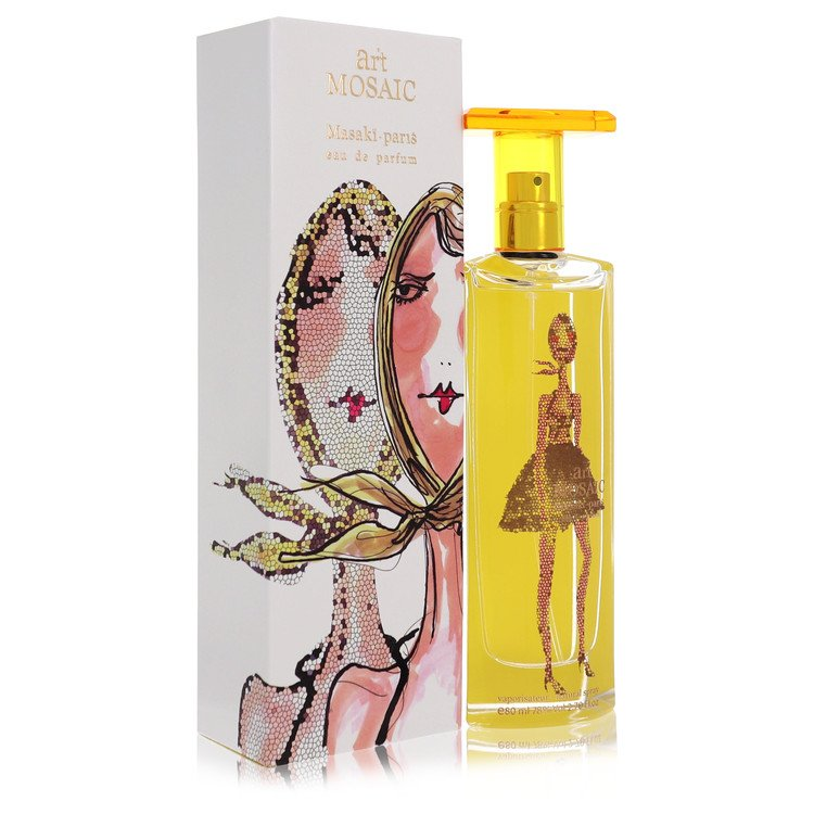 Art Mosaic Eau De Parfum Spray By Masaki Matsushima 2.7oz
