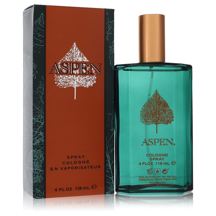 Aspen Cologne Spray By Coty 4.0oz