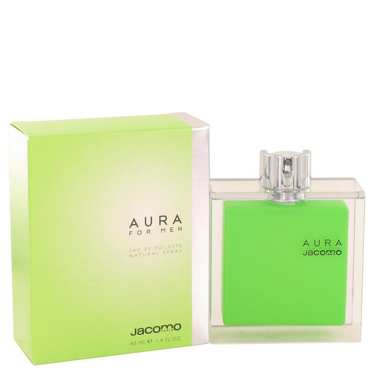 AURA by Jacomo for Men Eau De Toilette Spray 1.4 oz