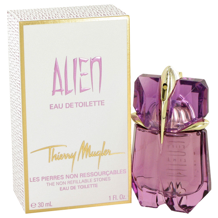Alien by Thierry Mugler for Women Eau De Toilette Spray 1 oz