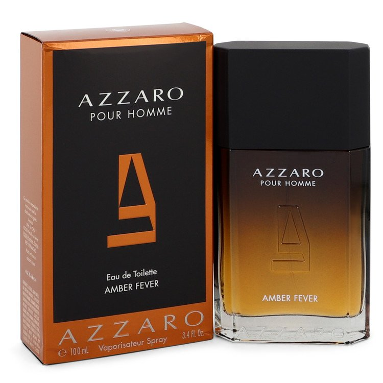 Azzaro Amber Fever Eau De Toilette Spray By Azzaro 3.4oz