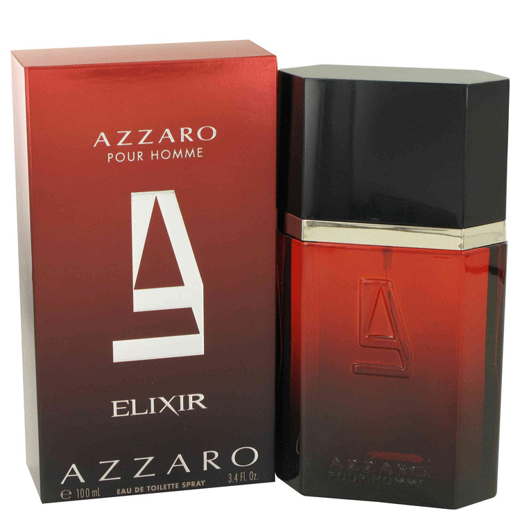 Azzaro Elixir Eau De Toilette Spray By Azzaro 3.4oz