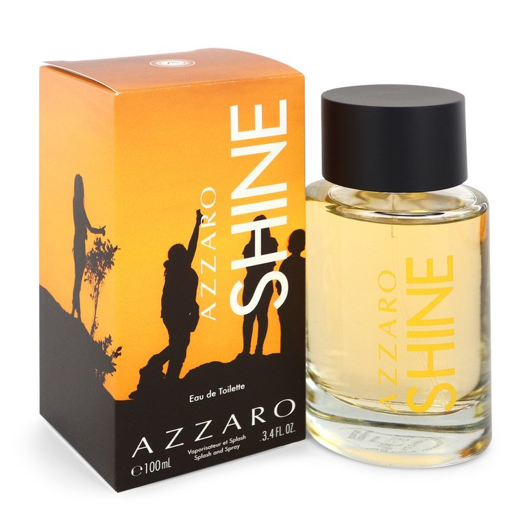 Azzaro Shine Eau De Toilette Spray By Azzaro 3.4oz