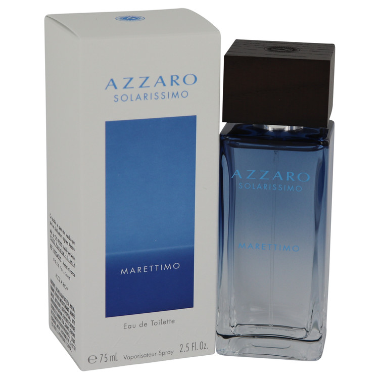 Azzaro Solarissimo Marettimo Eau De Toilette Spray By Azzaro 2.5oz
