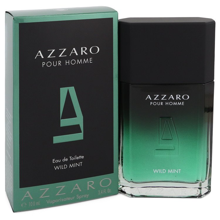 Azzaro Wild Mint Eau De Toilette Spray By Azzaro 3.4oz