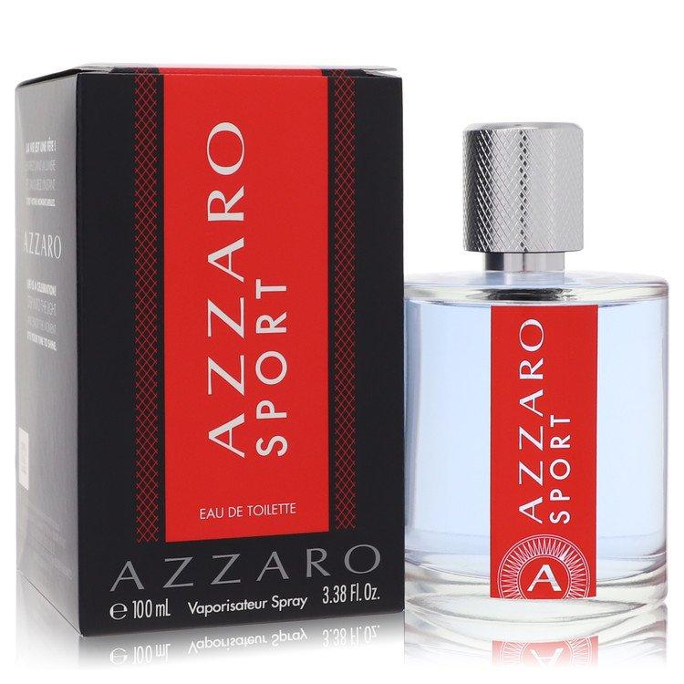 Azzaro Sport Eau De Toilette Spray By Azzaro 3.4oz