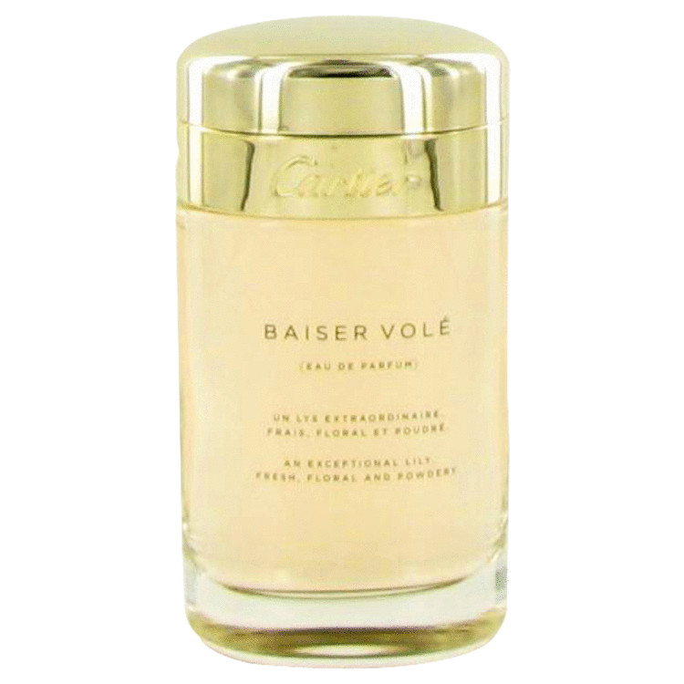 Baiser Vole Eau De Parfum Spray (Tester) By Cartier 3.4oz