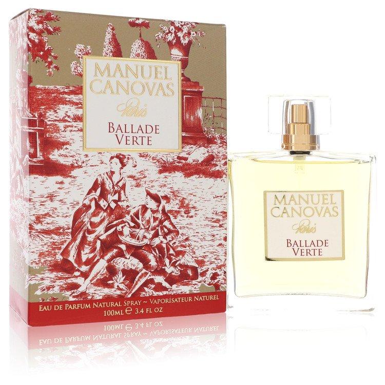 Ballade Verte Eau De Parfum Spray By Manuel Canovas 100ml